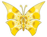 butterfly gold